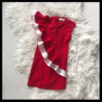 Fringe dress Red