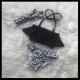 Bikini leopard Black/White