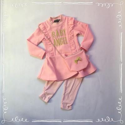 Baby Angel set Pink