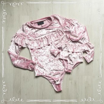 Body Velours Roze