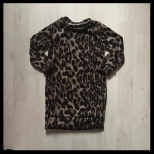 Dress leopard brown