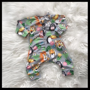 Jungle animals Onesie