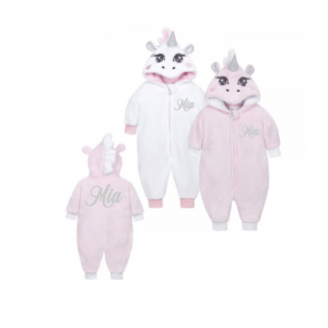 Unicorn Onesie wit