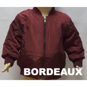 Bomber Jacket Bordeaux