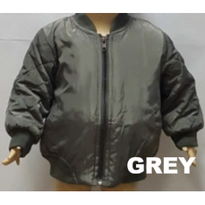 Bomber Jacket Grey
